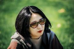 Almost summer... (Arutemu) Tags: portrait woman girl face female canon asian dof bokeh feminine femme tokina 80200mm 80200  6d    femaleportrait          eos6d  bokehville