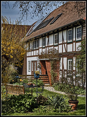 DSC01209  -  Fachwerk-Fassade (Max-Friedrich) Tags: architektur landschaft garten gebude fassade fachwerk niedersachsen niedernjesa