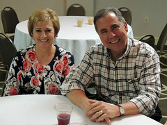 """Scott and Betty Tarkenton at the opening day of the district conference.Photo credits: Ed SmallwoodMore information: <a href=""""http://northraleighrotary.org/2016-district-conference"""" rel=""""nofollow"""">northraleighrotary.org/2016-district-conference</a>"""