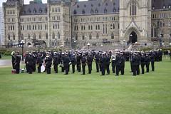 RCSCC Falkland band (Mark Blevis) Tags: ottawa wwii ceremony parade atlantic parliamenthill battleoftheatlantic