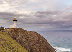 Cape Byron Lighthouse (russellstreet) Tags: cloud lighthouse water horizon australia newsouthwales byronbay capebyron capebyronlighthouse