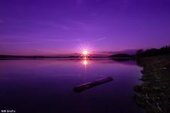sunday sunset (MMGrafix) Tags: sunset sky lake reflection evening magenta spiegelung abends