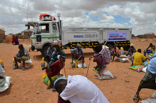 Food relief in drought-hit Nugaal, Puntland