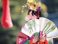 Mature (Teruhide Tomori) Tags: portrait festival japan lady dance kyoto stage performance event   tradition japon    heianjingushrine