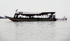 Boat on Tonl Sap, Cambodia (C Ord) Tags: travel lake boat cambodia sap freshwater tonl tonlsap
