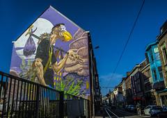 Gent Street Art (Adri Pez) Tags: street city sky urban building art calle arte belgium edificio belgi ciudad east cielo urbano oriental ghent gent gand gante flanders straat blgica flandes oostflanders