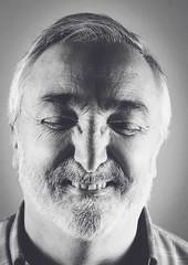 Rafa (PabloLatorre4) Tags: old bw smile beard bn laugh