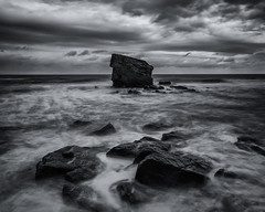 Charley's Garden (Howard Brown) Tags: blackandwhite seascape mono fineart northumberland northumbria chop northeast swell charleysgarden