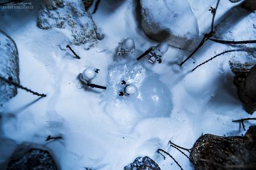 """""""Rescue on the Frozen Lake vol.II"""" STAR WARS BALERMA"""