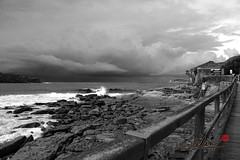 Brewing storm over Botany Bay (Slilin...) Tags: sea sydney laperouse bareisland