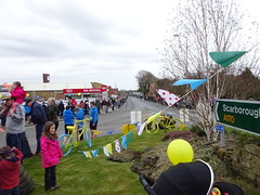 DSC02128 Waiting for the Tour de Yorkshire (petelovespurple) Tags: people cars cycling waiting candid yorkshire police bikes flags northyorkmoors motorbikes northyorkshire 2016 a170 kirkbymoorside ryedale tourdeyorkshire