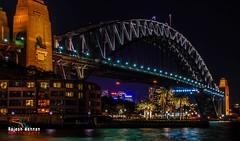 Sydney Harbour Bridge (RajeshMannanPhotography) Tags: bridge night lights sydney australia nightlight
