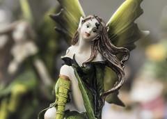 Porcelain Pixie (zuni48) Tags: sculpture macro closeup ceramic sprite pixie fairy figurine macromondays spoutwoodfarmfairiefestival2016 beginswiththeletterp