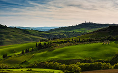 Tuscan Afternoon (jfusion61) Tags: italy green landscape town nikon san afternoon hills tuscany siena 70200mm dorcia quirico d810