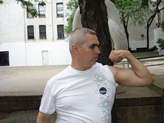 FLEXING! (Jonathan C. Aguirre) Tags: muscles arms guns biceps flexing