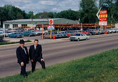Leahy Car Dealership, Color Photo