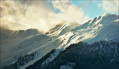 Winter morning on Alps (Katarina 2353) Tags: winter mountain snow alps film landscape switzerland nikon swiss verbier vertorama katarinastefanovic katarina2353