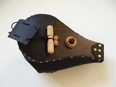 Bellows for vegan/vegetarian pipers (prototype) (Bagpipe Maker T. Sonoda) Tags: bellows bagpipe gaita dudelsack cornemuse dudy musette sckpipa sackpfeife