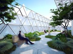 Проект офисного комплекса Chameleon от Wanders Werner Falasi Consulting Architects