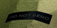 MM Rule Broken (blueyshutta) Tags: decal bent rule macromondays brokenrule