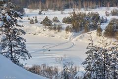 (PhGra_f) Tags: sunset snow russia siberia f18 russland carlzeissjena pancolar canoneos40d omskregion ddrlens