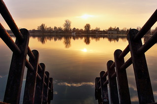 Danube sunset 2