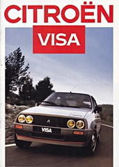 Citron Visa brochure 09-1986 (sjoerd.wijsman) Tags: auto cars car citron voiture vehicle 1986 brochure visa fahrzeug folleto prospekt carbrochure opuscolo citronvisa brochura broschyr autobrochure 091986