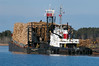 mcallister (dan mackey) Tags: superior tugboat barge pulpwood superiorwisconsin twinports greatlakesship mcallistar superiorharbor