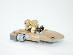 Resistance Base Speeder (jonathanwhudson) Tags: star force xwing wars base resistance the t70 awakens dqar
