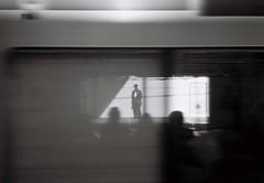 (lemonhats) Tags: blur japan walking iso100 35mmfilm automatic vintagecamera trainplatform nakai autofocus classiccamera filmphotography fixedlens negativefilm printfilm primelens shootfilm tokyoto 35mmf35 filmisnotdead kodakd76 fujifilmneopanacros100 35mmcompact analoguephotography homedevelopment wideprime nakanoku olympusmjupanorama filmisalive filmcommunity legacyphotography fpper believeinfilm blackandwhite olympus3535