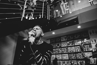 May 14, 2015 // Frank Carter & The Rattlesnakes at Sang Blue // Shot by Jennifer McCord