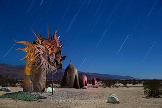Drago Rosso Star Trails