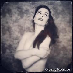 Rodrigue 2 (NolaChick) Tags: blackandwhite film vintage neworleans retro redlips nola brunette pinup pinupgirl paleskin nolachick daverodrigue mariellesongy