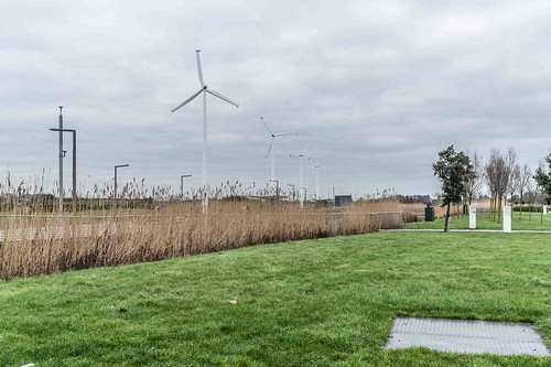 Wind Powered Public Park In Clongriffin Dublin [Father Collins Park]-110922