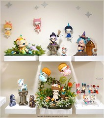 MAGIC CASTLE by Son JiYoung (Dressy Doll) Tags: artdoll arttoy soloexhibition customtoy fabricdoll dressydoll