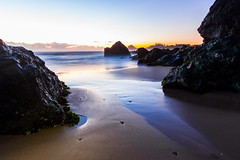 Early morning at Rocky Beach (TonyinAus) Tags: longexposure morning beach water canon coast newsouthwales portmacquarie australiabeaches