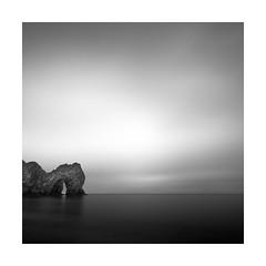 Light at the dark door (Nick green2012) Tags: door mist seascape dark square big stopper durdle