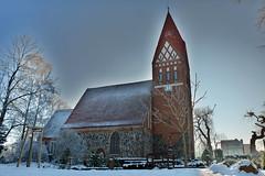 Biestow #4 (victorlaszlo73) Tags: winter sunny sonnig dorfkirche mecklenburgvorpommern biestow