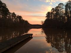 Sunset Over Rock Eagle (5/52) (JustThoseMoments) Tags: sunset lake forest georgia dock national boardwalk oconee 52 2016 eveninghike rockeagle edition522016wk552
