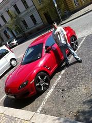 Mazda Rx-8 in CZ (stecker.rene) Tags: auto sports car republic czech oz cz mazda rims rx8 versilia sportwagen 2011 ozrims ozversilia