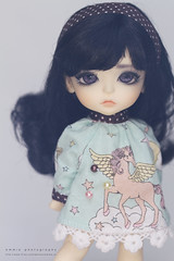 My Child :-) (Emmie Ame) Tags: halloween cat toy doll lea bjd balljointeddoll latiyellow
