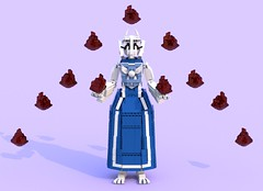 Toriel 5 (pb0012) Tags: game monster video lego character goat indie videogame ldd goatmom indiegame toriel undertale