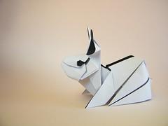 Rabbit (Lapin) - Gen Hagiwara (Rui.Roda) Tags: rabbit origami conejo gen coelho papiroflexia lapin hagiwara papierfalten