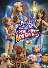 Barbie and his sisters in the great puppy adventure (hernnpatriciovegaberardi (1)) Tags: en sisters puppy de stacie chelsea y stacy great barbie her adventure una his gran mattel sus perritos aventura piernas hermanas tierna rodillas arrodillada