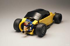 Ctrico de Mxico _04 (_Tiler) Tags: hot car sport vw race racecar volkswagen lego vehicle rod autoracing volksrod