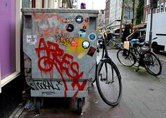 graffiti amsterdam (wojofoto) Tags: holland amsterdam graffiti nederland tags netherland afresh wolfgangjosten wojofoto