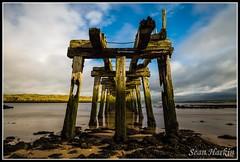 Castlerock Old Ruined Jetty_rcf (Sean Harkin) Tags: longexposure coast jetty castlerock barmouth 10stopfilter bigstopper haidaproii