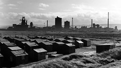 """South Gare 02-02-16  (30) (Big Warby) Tags: uk sea england beach coast seaside dunes estuary huts riding redcar saltburn steelworks stocktonontees """"united """"south """"east """"great works"""" """"steel coast"""" """"big """"river teesmouth mouth"""" """"david """"north hole"""" kingdom"""" yorkshire"""" britain"""" tees"""" cleveland"""" """"paddy's huts"""" gare"""" warburton"""" warby"""" """"tees """"fishermen """"bigwarby"""" """"redcar"""