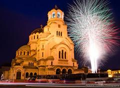 3.3.2016 (AVasilev) Tags: holiday saint cathedral fireworks sofia national alexander nevsky