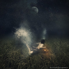 searching (evenliu photography) Tags: boy sea sky water grass night digital swim photomanipulation photoshop liu search under arts surreal manipulation imagine even finearts   evenliu